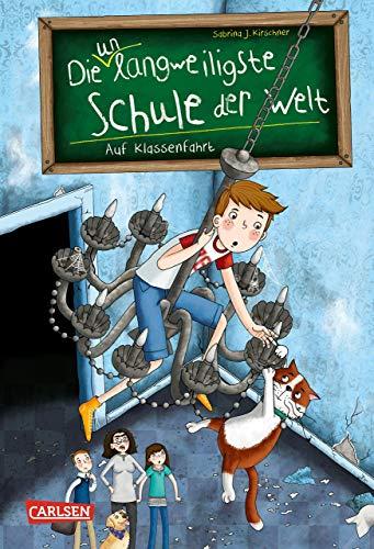 Die unlangweiligste Schule der Welt 1: Auf Klassenfahrt: Kinderbuch ab 8 Jahren über eine lustige Schule mit einem Geheimagenten (1)