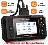 FOXWELL NT624elite Scan Tool Automotive Obd2 All Systems Diagnostic Scanner for Cars with Oil Light & EPB Reset Service, Check ENG ABS SRS at/MT EPS HVAC Headlamp Code Reader
