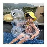 Pkfinrd Bebé Nadar Flotador Inflable con airbag Nadando Flotador de natación a la Piscina Ayuda de Entrenamiento de natación para bebés