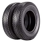 Set of 2 Trailer Tire 175/80R13 ST175 80R13 6 Ply Load Range C 91/87N Tubeless Radial 1758013 Trailer Tires