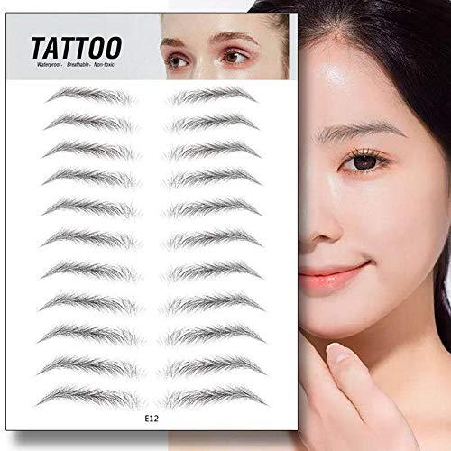 duhe189014 Cheveux comme des Sourcils Authentiques Bionic Brow Sticker Long Lasting Damage Free Sourcils Stickers Makeup Cosmetic Tool
