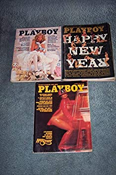 Playboy Magazine Lot 1976 Jan-March-April