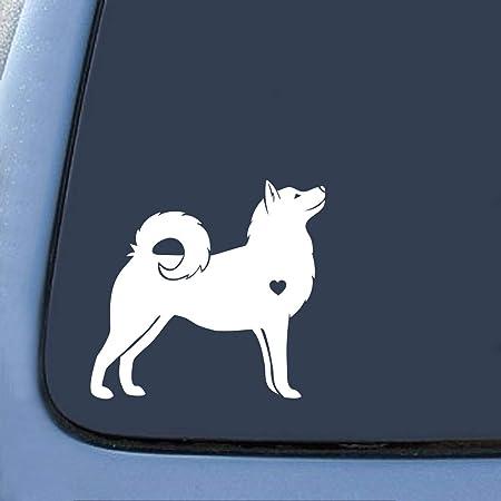 HUSKIES Car Sticker V04 Siberian Husky Sled Dog Window Sign Bumper Decal Gift