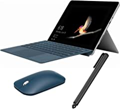 """$569 Get Microsoft Surface Go 10"""" Touchscreen 2 in 1 PC Tablet Education Bundle, 8GB RAM, 128GB SSD, Win 10 Pro, USB Type C, Keyboard, Mouse and Digital Pen Included - Cobalt Blue (Renewed)"""