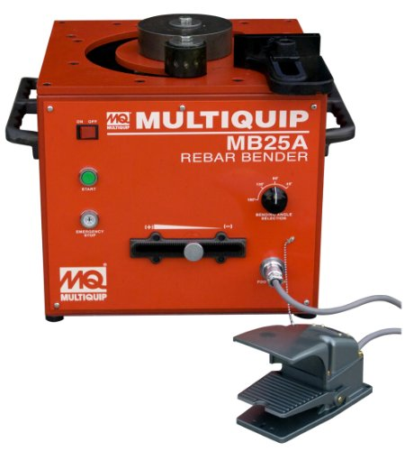 Lowest Price! Multiquip MB-25A Rebar Bender Bench Type, 1-Inch, 115-Volt Electric