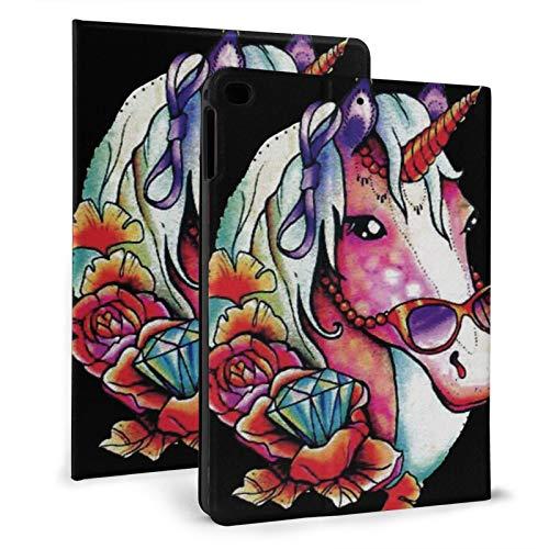 Unicornios con gafas de sol iPad aire 9.7 pulgadas ultra delgado caso iPad mini 7.9 pulgadas Smart Stand cubierta iPad mini4/5 7.9