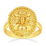 Malabar Gold and Diamonds 22k (916) Yellow Gold Ring for Girls