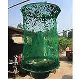 Trappola per mosche da appendere, con contenitore per esche, per giardinaggio, parassiti e insetti