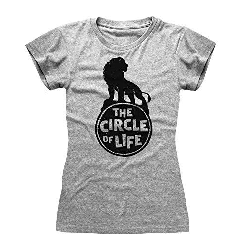 Camiseta Gris de The Lion King The...