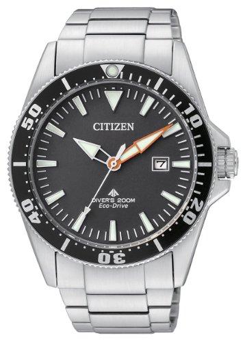 Citizen Promaster Diver 200 mt Eco Drive BN0100-51E - Orologio da polso Uomo