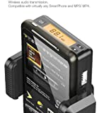 Sanoxy SANOXY-FM10DUNI-micromini Universal FM Stereo Transmitter with Micro and Mini USB Cable (Black)