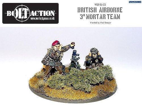 British Para 3 Mortar - Warlord Games by Warlord Games