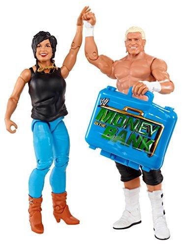 WWE Battle Pack Dolph Ziggler vs. Vickie Guerrero Action Figure, 2-Pack