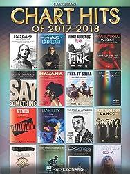 Chart Hits of 2017-2018: Easy Piano