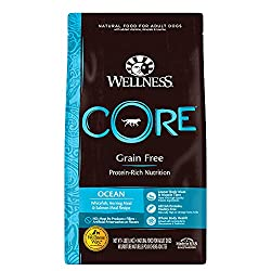 Wellness Core Natural Grain Free Dry Dog Food Ocean Whitefish, Herring & Salmon