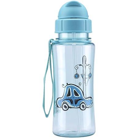 MINIONS Fun House 005118 Kinder Aluminium Trinkflasche blau 6,4/x 6,4/x 17/cm