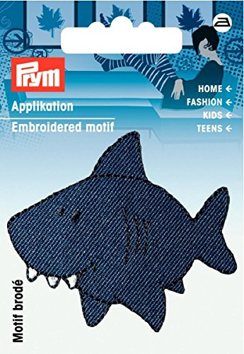 Motif requin bleu