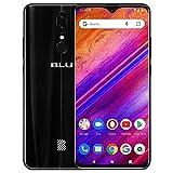 BLU G9-6.3' HD Infinity Display Smartphone, 64GB+4GB RAM -Black (Renewed)