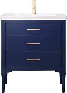 30 blue vanity