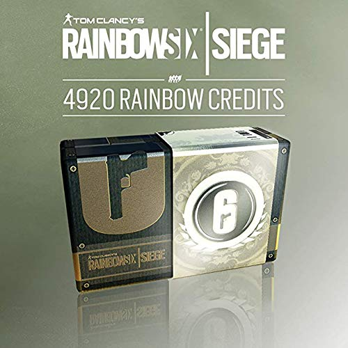 TOM CLANCY'S RAINBOW SIX SIEGE: 4920 CRÉDITOS R6 (4200+720 extra) - 4920 CRÉDITOS |Código Uplay para PC