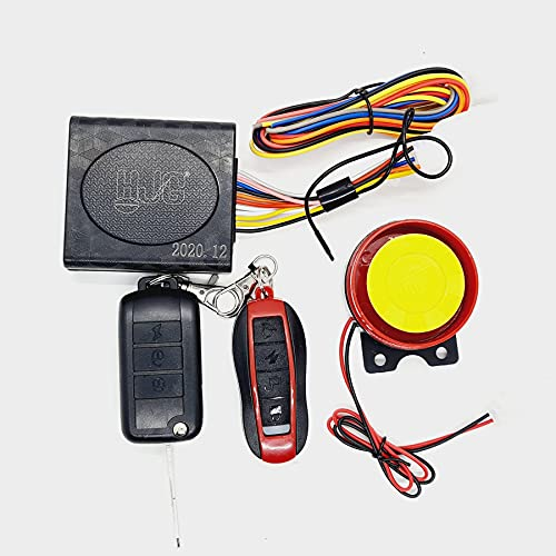 AUTOPOWERZ Bike Security and Alarm System for All Bikes and Two Wheeler (Folding Key)