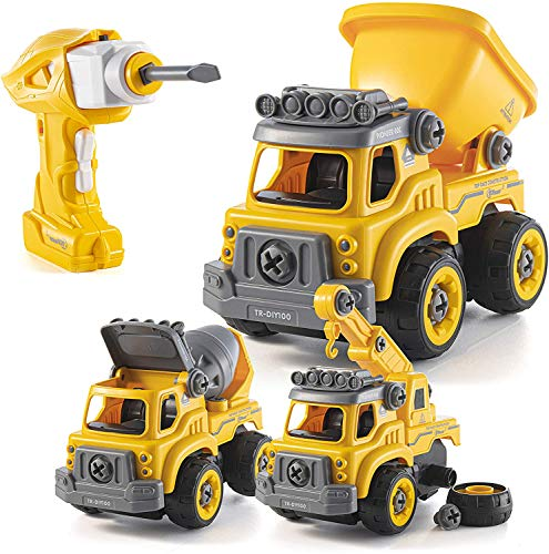 Construction Truck Take-Apart Toy with Electric Drill - $28.04 w/ Free Shipping