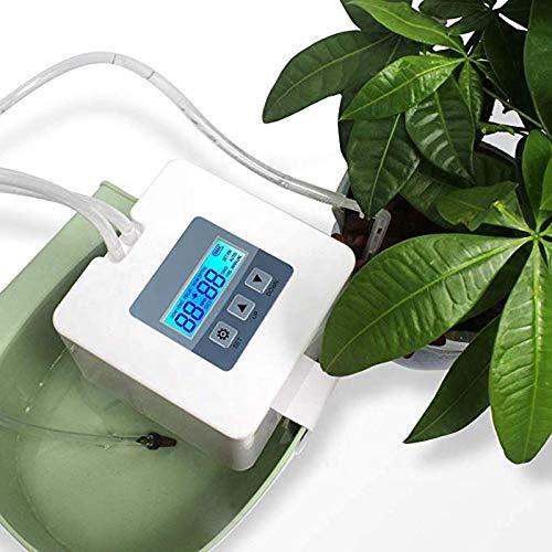 funks 水やり 自動 タイマー 電池式 水やり器 灌水器 ベランダ 電池 屋外 植物 花
