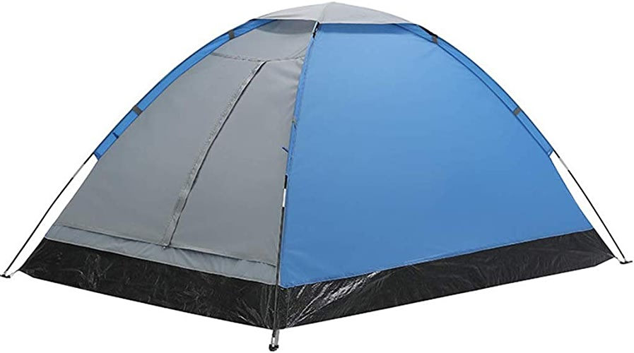 GYY Tente de Camping 1-2 Personne imperméable à la crème Solaire Solaire Coupe-Vent Multifonction Portable, Bleu