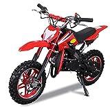 Actionbikes Motors - Mini moto da cross Delta 49 cc, freno a disco, scarico sportivo, filtro...
