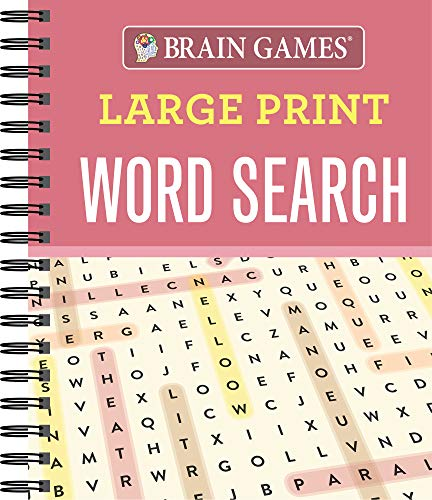 Compare Textbook Prices for Brain Games - Large Print Word Search  ISBN 9781640300965 by Publications International Ltd.,Brain Games