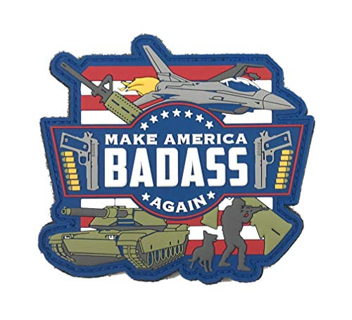 Patriot Patch Co - Make America Badass Again - Patch