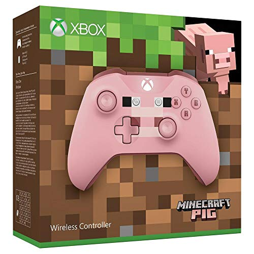 Microsoft Xbox Wireless Controller, Minecraft Rosa, Limited Edition