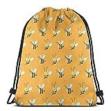 Sacs à Dos avec Cordon de Serrage & iexcl; & ecirc;? Bee Sport Gym String Storage Sackpack