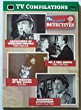 TV Compilations DVD Video, TV's Greatest Detectives, Adventures of Sherlock Holmes Pennsylvania Gun, Mr. & Mrs. North Comic Strip Tease, Sgt. Preston of The Yukon Black Ace, Dangerous Assignment Memory Chain Story
