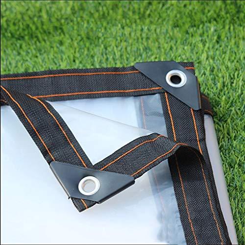 HCYTPL transparante dekzeilen verdikken, regenbestendige dekzeilen vloerbedekkingen plastic, dikte 0,12 mm
