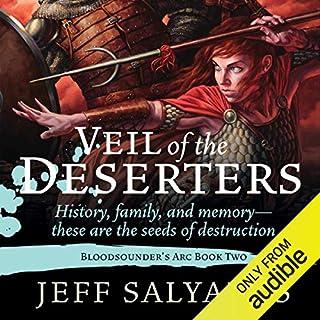 Veil of the Deserters audiobook cover art
