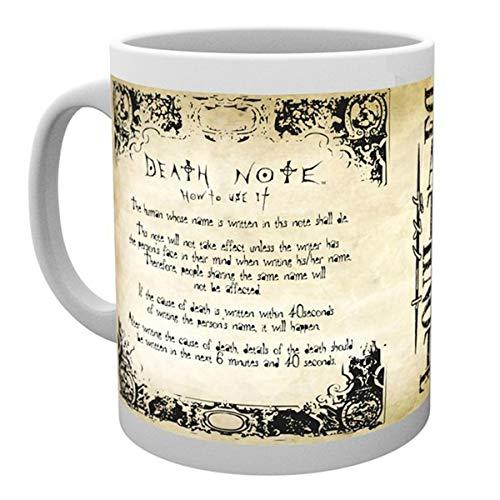 GB Eye, Death Note, Rules, Mug