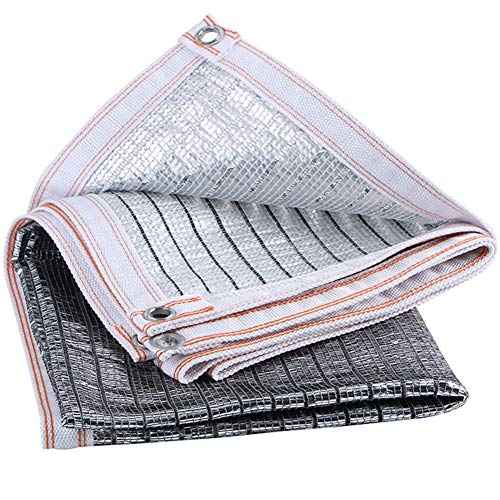 Schattennetz Sonnenschutz Langlebiges Sonnenschutz-Aluminiumfolien-Schirmnetz Werden Häufig Im Innenhofbalkon-Dach-Carport Usw. Verwendet