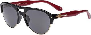 La Martina Clubmaster Black Men's Sunglasses - LM553-56-19-135