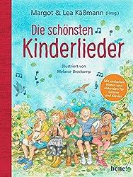Die 100 schönsten Kinderlieder - Mit einfachen Noten und Akkorden für Gitarre und Klavier: Illustriertes Liederbuch für Kinder ab 4 Jahren - mit einer kurzen Einführung für die Eltern