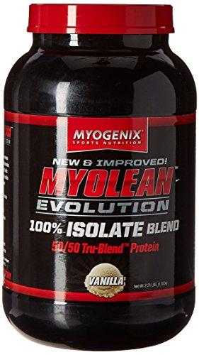 Myogenix Myolean Evolution Isolate Powder, Vanilla Cream, 2.31 Pound