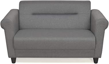 @home by Nilkamal Pashe Two Seater Sectional Sofa (Grey)
