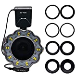 Venidice SL-102 Camera Manual Ring Light Flash, Macro LED Ring Flash(LCD Display) for 40.5mm, 52mm, 55mm, 58mm, 62mm, 67mm, 72mm, 77mm Lens DSLR Cameras