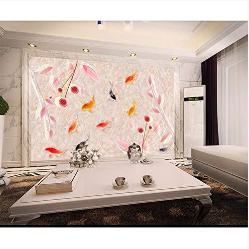 Lovemq 3D Wallpaper Wandbild/Individuelle Fototapeten/Abstrakt Marmorierte Jade/Tv/Sofa/Bettwäsche/Ktv/Hotel/Wohnzimmer/Kinder-190X150Cm