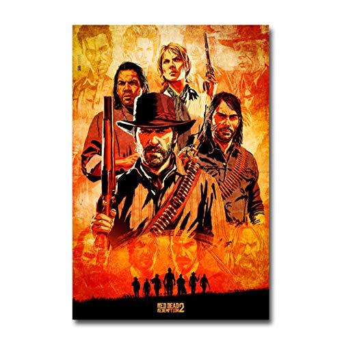 póster red dead redemption 2 de la marca GHTAWXJ