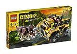 LEGO Dino - 5885 - Jeu de Construction - Le Piège du Tricératops