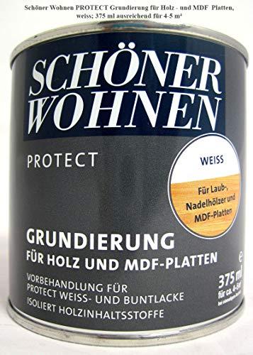 MDF-Grund Profidur Weiss 375 ml Vorlack Schöner Wohnen