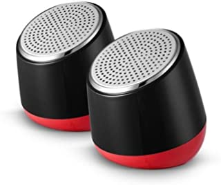 MINGTAI AL-101 Speaker, Multimedia Audio Speaker, Computer Speaker - Black Red (Color : Black red)
