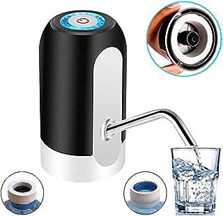 ASMARPA Dispensador de Agua Eléctrico,Bomba Agua embotellada,con Adaptador Universal, Dispensador automatico de Agua, Disp...
