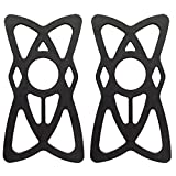 SimPra Silicone Security Bands for Cell Phone Mount, Universal Mountain & Road Handlebar Cradle...